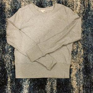 GAP grey crew neck sweatshirt XS